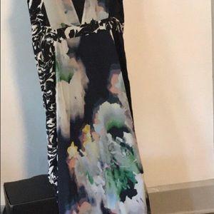 Full length bohemian inspired maxi dress